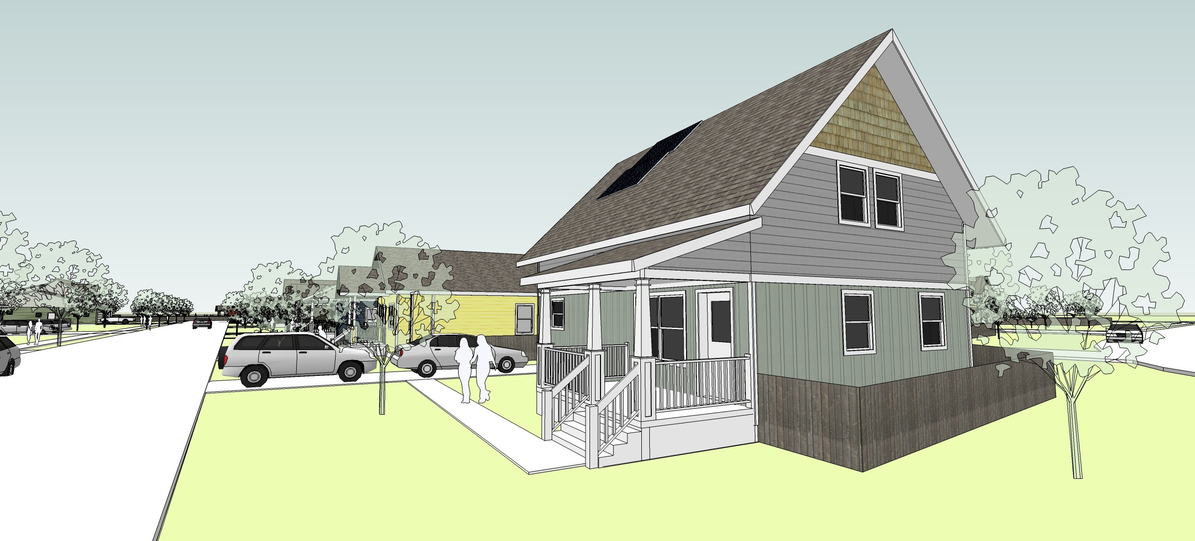 Super insulated home design plans.