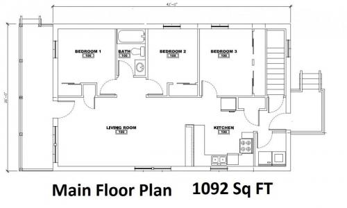 942 N Main M - Floor Plan